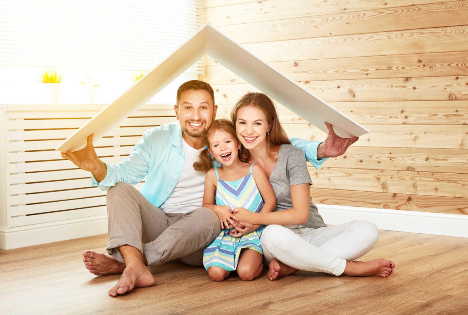 Картинка молодая семья и жилье